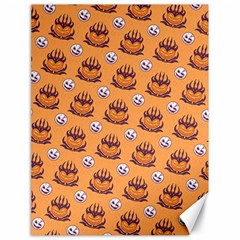 Helloween Moon Mad King Thorn Pattern Canvas 18  x 24