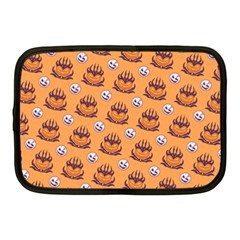 Helloween Moon Mad King Thorn Pattern Netbook Case (Medium)