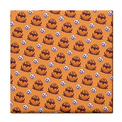 Helloween Moon Mad King Thorn Pattern Face Towel