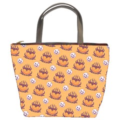 Helloween Moon Mad King Thorn Pattern Bucket Bags