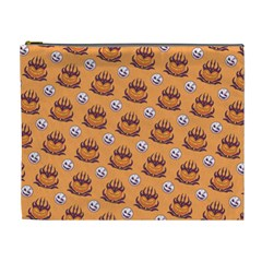 Helloween Moon Mad King Thorn Pattern Cosmetic Bag (XL)