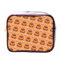 Helloween Moon Mad King Thorn Pattern Mini Toiletries Bags