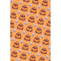 Helloween Moon Mad King Thorn Pattern 5.5  x 8.5  Notebooks