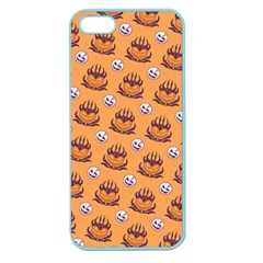 Helloween Moon Mad King Thorn Pattern Apple Seamless iPhone 5 Case (Color)