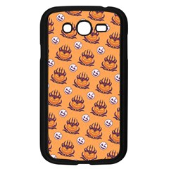Helloween Moon Mad King Thorn Pattern Samsung Galaxy Grand DUOS I9082 Case (Black)