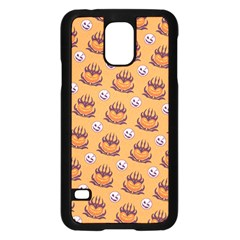 Helloween Moon Mad King Thorn Pattern Samsung Galaxy S5 Case (Black)