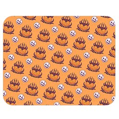 Helloween Moon Mad King Thorn Pattern Double Sided Flano Blanket (Medium)
