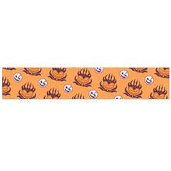 Helloween Moon Mad King Thorn Pattern Flano Scarf (Large)