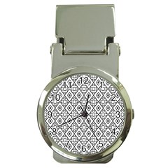 Triangel Plaid Money Clip Watches