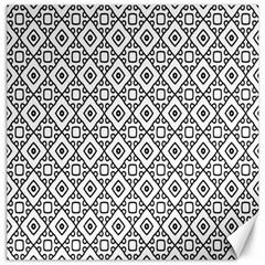 Triangel Plaid Canvas 12  x 12