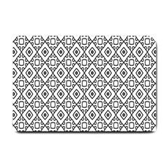 Triangel Plaid Small Doormat
