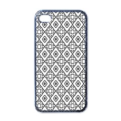 Triangel Plaid Apple iPhone 4 Case (Black)