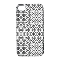 Triangel Plaid Apple iPhone 4/4S Hardshell Case with Stand