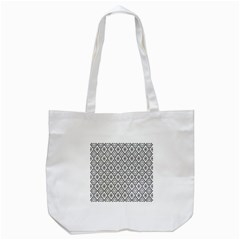 Triangel Plaid Tote Bag (White)