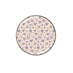 Heart Love Valentine Pink Blue Hat Clip Ball Marker