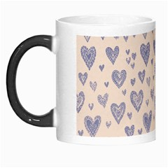 Heart Love Valentine Pink Blue Morph Mugs