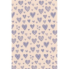 Heart Love Valentine Pink Blue 5.5  x 8.5  Notebooks