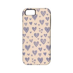 Heart Love Valentine Pink Blue Apple iPhone 5 Classic Hardshell Case (PC+Silicone)