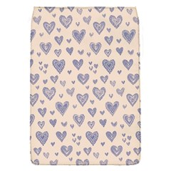 Heart Love Valentine Pink Blue Flap Covers (S)