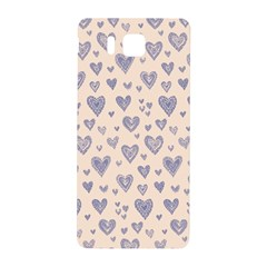 Heart Love Valentine Pink Blue Samsung Galaxy Alpha Hardshell Back Case