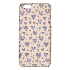 Heart Love Valentine Pink Blue iPhone 6 Plus/6S Plus TPU Case