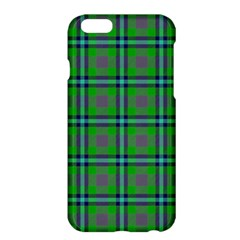 Tartan Fabric Colour Green Apple iPhone 6 Plus/6S Plus Hardshell Case