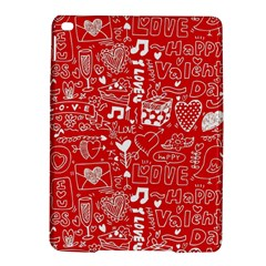 Happy Valentines Love Heart Red iPad Air 2 Hardshell Cases