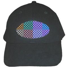 Alphabet Number Black Cap