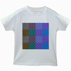 Alphabet Number Kids White T-Shirts