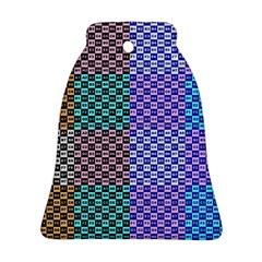 Alphabet Number Bell Ornament (Two Sides)