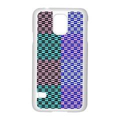 Alphabet Number Samsung Galaxy S5 Case (White)