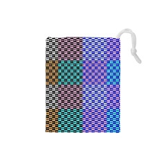 Alphabet Number Drawstring Pouches (Small)