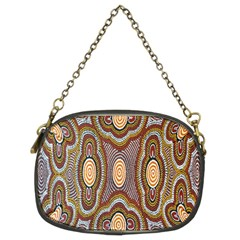 Aborigianal Austrialian Contemporary Aboriginal Flower Chain Purses (Two Sides)