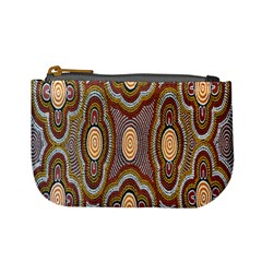 Aborigianal Austrialian Contemporary Aboriginal Flower Mini Coin Purses