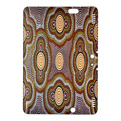 Aborigianal Austrialian Contemporary Aboriginal Flower Kindle Fire HDX 8.9  Hardshell Case