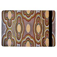 Aborigianal Austrialian Contemporary Aboriginal Flower iPad Air Flip