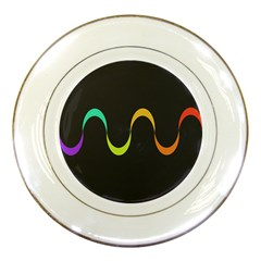 Artwork Simple Minimalism Colorful Porcelain Plates