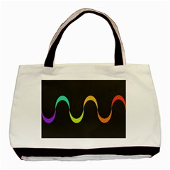 Artwork Simple Minimalism Colorful Basic Tote Bag