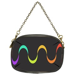 Artwork Simple Minimalism Colorful Chain Purses (One Side)