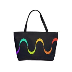 Artwork Simple Minimalism Colorful Shoulder Handbags