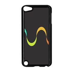 Artwork Simple Minimalism Colorful Apple iPod Touch 5 Case (Black)