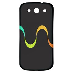 Artwork Simple Minimalism Colorful Samsung Galaxy S3 S III Classic Hardshell Back Case