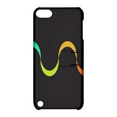 Artwork Simple Minimalism Colorful Apple iPod Touch 5 Hardshell Case with Stand