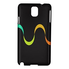 Artwork Simple Minimalism Colorful Samsung Galaxy Note 3 N9005 Hardshell Case