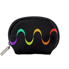 Artwork Simple Minimalism Colorful Accessory Pouches (small)