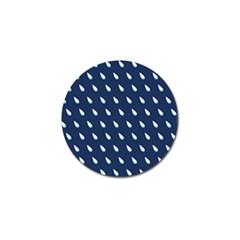 Another Rain Day Water Blue Golf Ball Marker