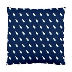 Another Rain Day Water Blue Standard Cushion Case (One Side)