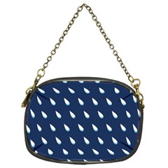 Another Rain Day Water Blue Chain Purses (Two Sides)
