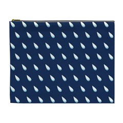 Another Rain Day Water Blue Cosmetic Bag (XL)