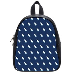 Another Rain Day Water Blue School Bags (Small)